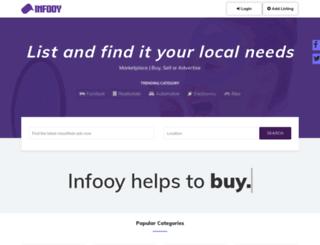 infooy.com screenshot