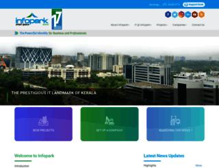 infopark.in screenshot