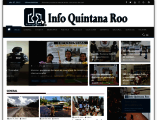 infoqroo.com screenshot