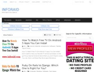inforaid.com screenshot
