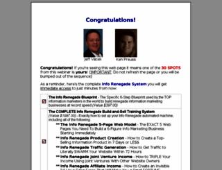 inforenegadesystem.com screenshot
