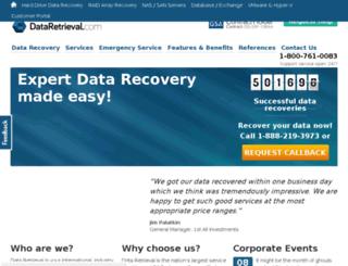 inforetrieval.com screenshot