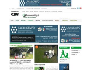 informacalcio.quotidiano.net screenshot