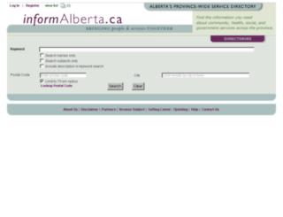 informalberta.ca screenshot
