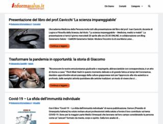 informasalus.it screenshot