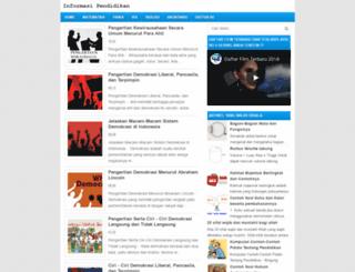 informasi-pendidikan.com screenshot
