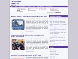 informasiterbaru2012.blogspot.com screenshot