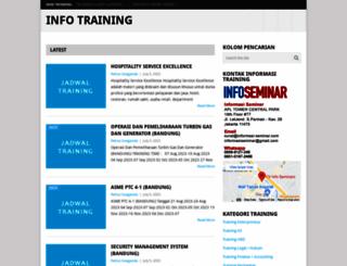 informasitraining.com screenshot