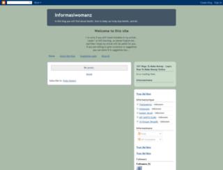 informasiwomanz.blogspot.com screenshot