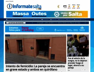 informatesalta.com.ar screenshot