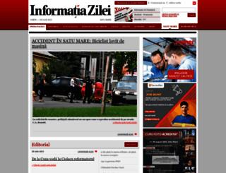 informatia-zilei.ro screenshot