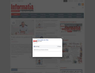 informatiadealba.ro screenshot