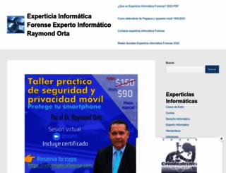 informaticaforense.com screenshot