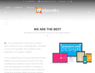 informaticx.com screenshot