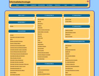 informatietechnologie.allepaginas.nl screenshot