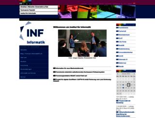 informatik.uni-kiel.de screenshot