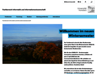 informatik.uni-konstanz.de screenshot