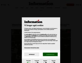 information.dk screenshot