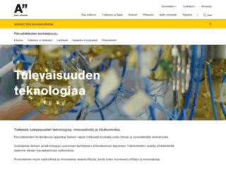 information.tkk.fi screenshot