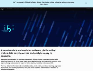 informationbuilders.com screenshot