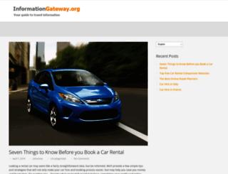 informationgateway.org screenshot