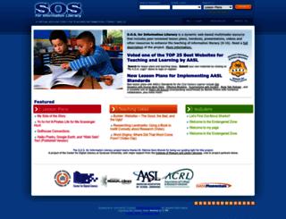 informationliteracy.org screenshot