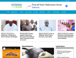 informationnigeria.org screenshot