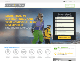 informationplanet.com screenshot