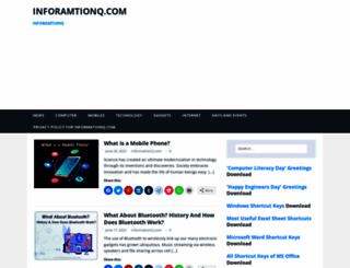 informationq.com screenshot
