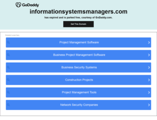 informationsystemsmanagers.com screenshot