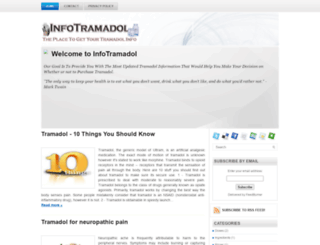 informationtramadol.blogspot.com screenshot