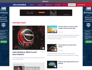 informationweek.com screenshot