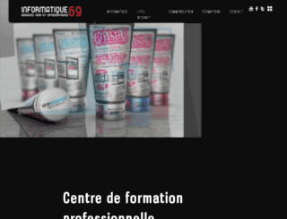 informatique-69.fr screenshot