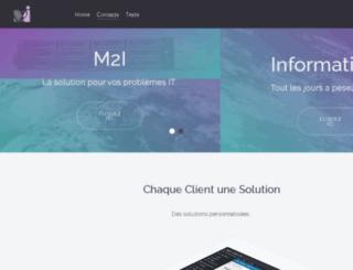 informatique-m2i.fr screenshot