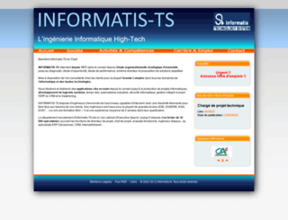 informatis-ts.fr screenshot