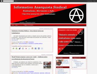 informativoanarquistasindical.blogspot.com screenshot