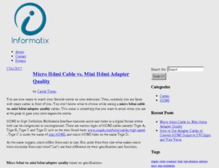 informatixsoftware.com screenshot