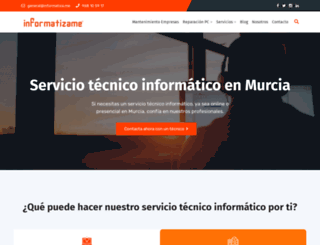 informatiza.me screenshot