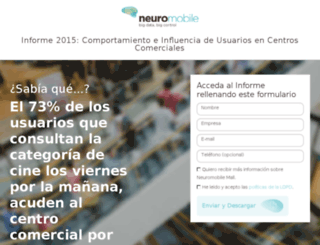 informe.neuromobilemarketing.com screenshot
