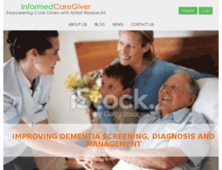 informedcaregiver.org screenshot