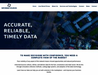 informedsources.com.au screenshot