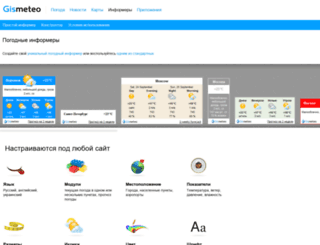 informer.gismeteo.ru screenshot
