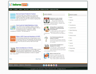informguru.com screenshot