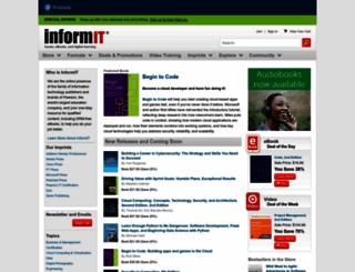 informit.com screenshot
