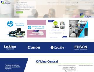 inforpor.com screenshot