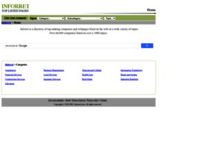 inforret.com screenshot