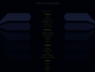 infos-zum-thema.de screenshot