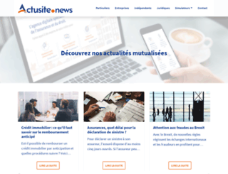 infos.actusite.fr screenshot