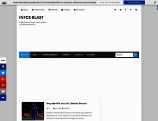 infosblast.blogspot.com screenshot