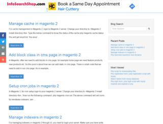 infosearchshop.com screenshot